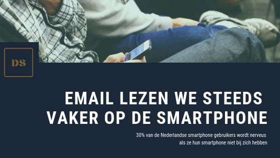 email marketing is nog steeds zeer effectief. We zien een verschuiving van desktop email marketing naar smartphone email marketing