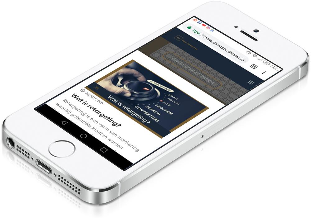 Mobile first zoekmachine optimalisatie tips. Hoe hoog sta ik in Google is hier afhankelijk van