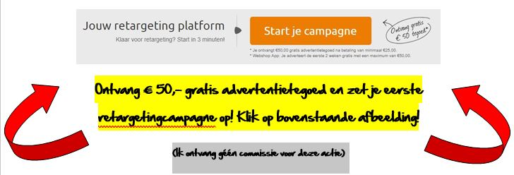 Retargeting is effectief